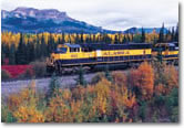Alaska's National Parks by Rail Tour