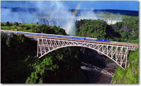 The Blue Train - Victoria Falls