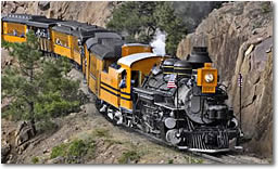 Colorado: Durango and Silverton Narrow Gauge Railroad