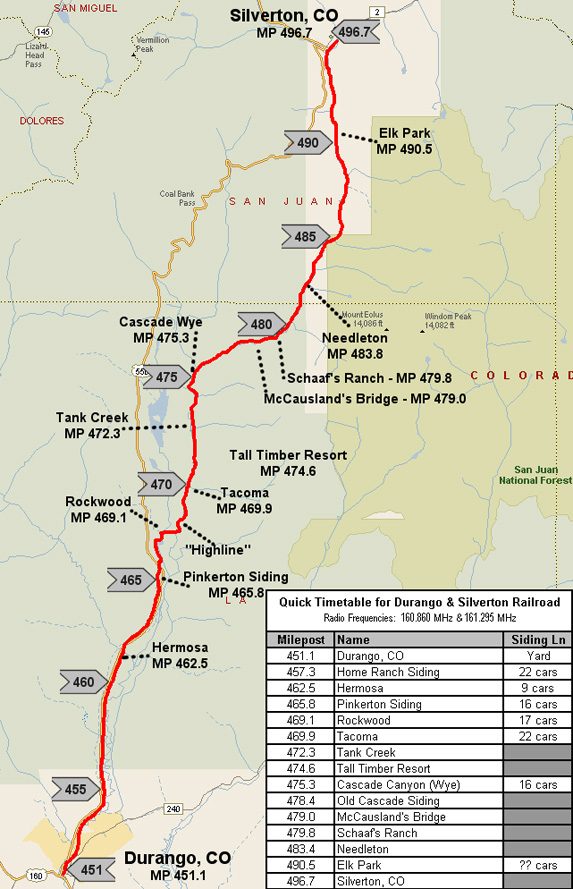 highway map of colorado with Durango And Silverton Railroad Map on Colorado west likewise Map moreover Kansas Oklahoma Map together with Pueblo Co also Maps.